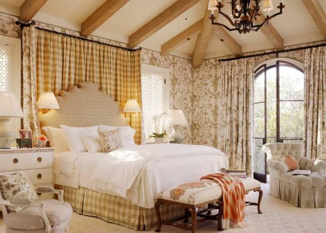 французский стиль в интерьере спальни фото 2