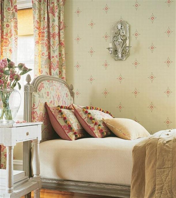французский стиль в интерьере спальни фото 1