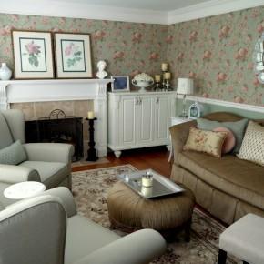Оформление гостиной – фото 819