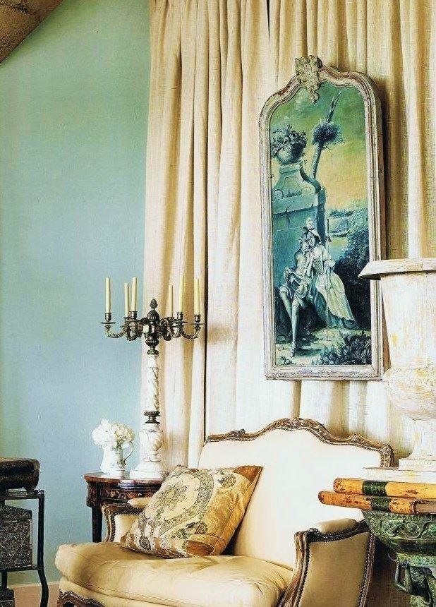 мебель во французском стиле интерьера
