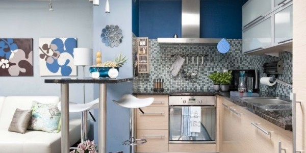голубые кухни-13