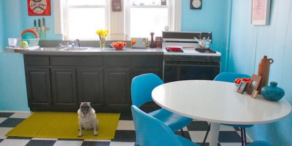 голубые кухни-15