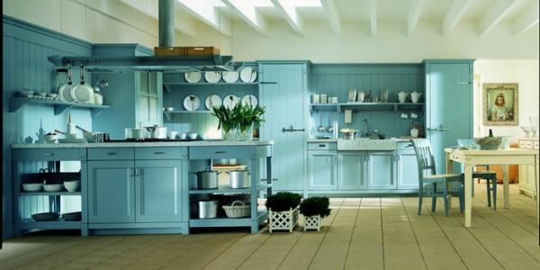 голубые кухни-16