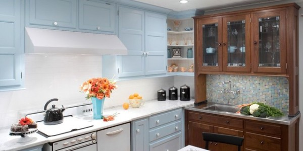 голубые кухни-17