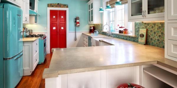 голубые кухни-19