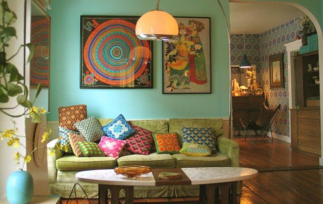 Интерьер дома в испанском стиле