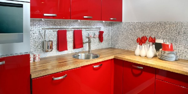 красная кухня-9
