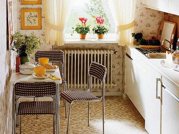 интерьер маленькой кухни до ремонта