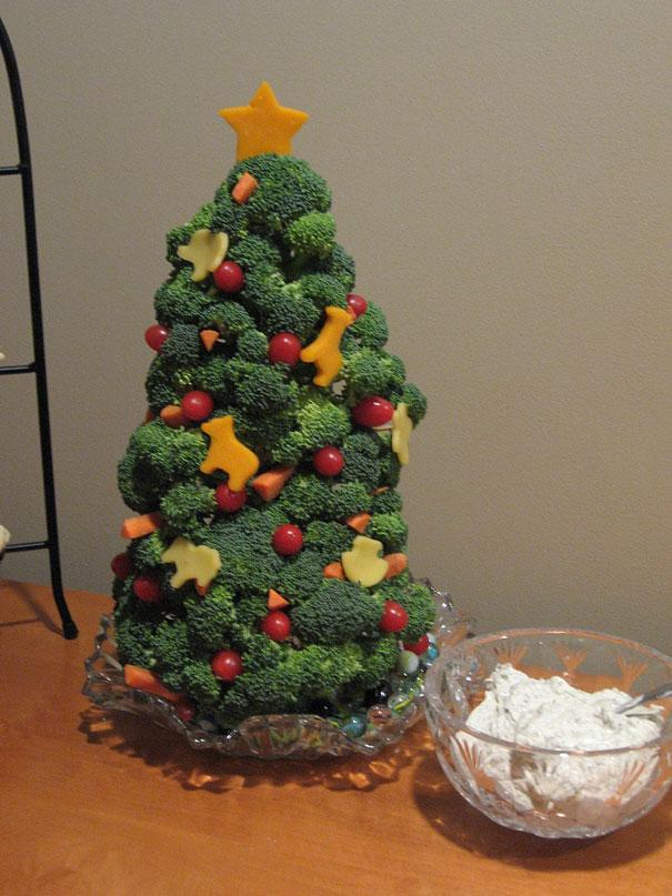 Веганская новогодняя елка
