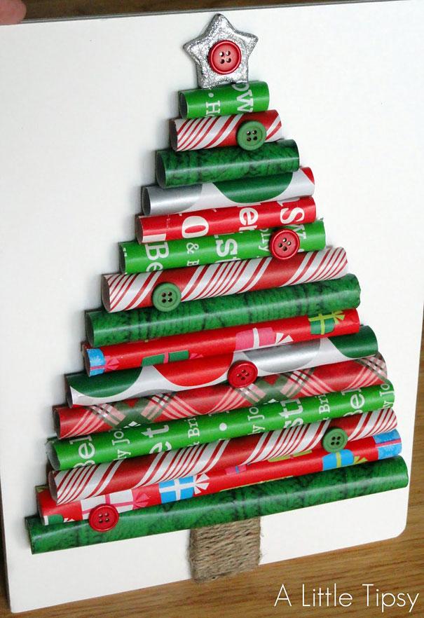 Новогодняя елка для экономной семьи