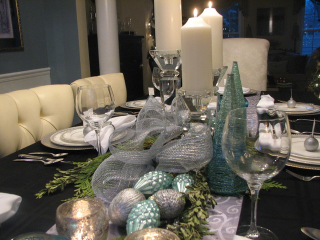 Сервировка праздничного стола