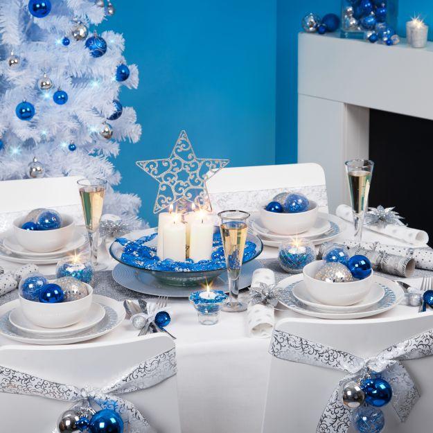 Новогоднеее оформление стола - Зимняя Сказка