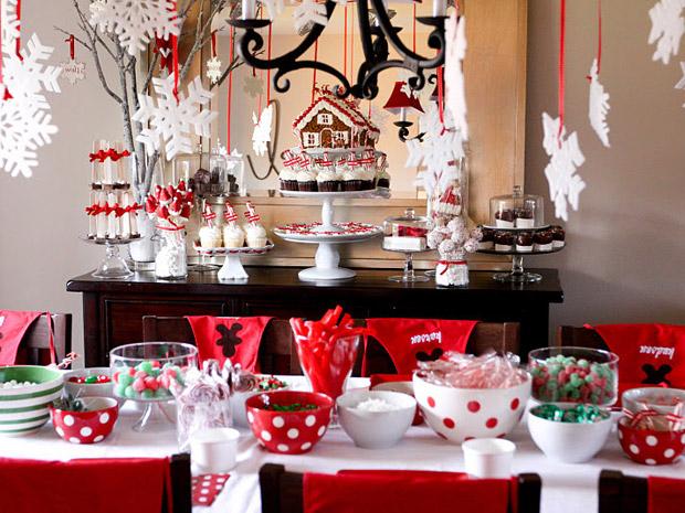 """Сервировка новогоднего стола - """"Сладкий стол"""""""