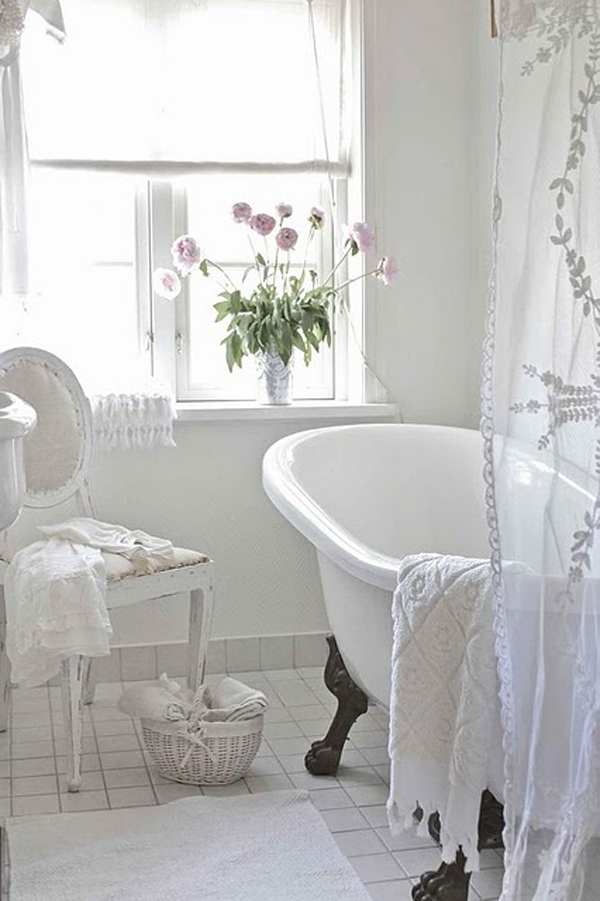 шебби шик ванная фото 5