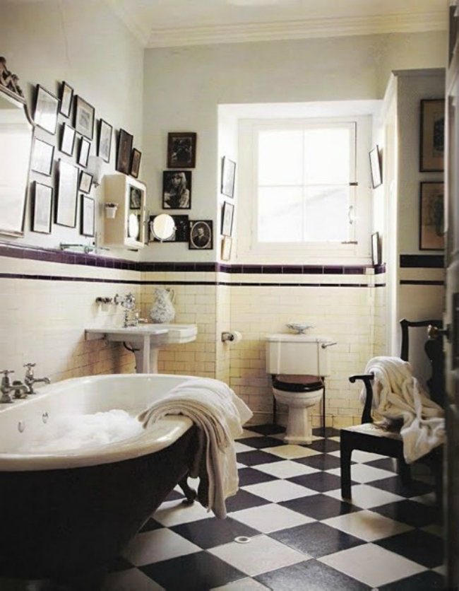 шебби шик ванная фото 2