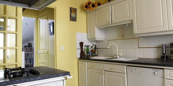 Светло желтые кухни (5)