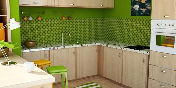 зеленые кухни-9