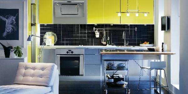 Желтые кухни-5