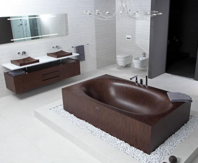 Деревянная ванна Laguna BASIC