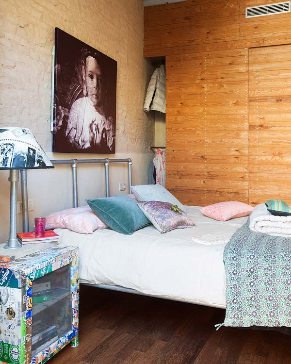 Декор спальни в двухэтажной квартире