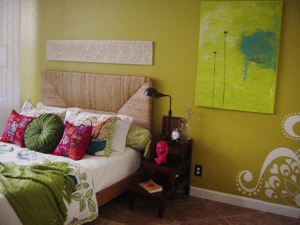 Индийский стиль интерьера спальни