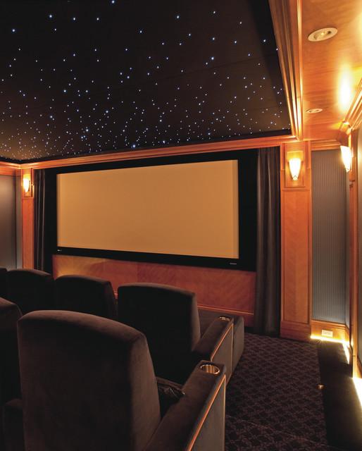 Звездный потолок домашнего кинотеатра