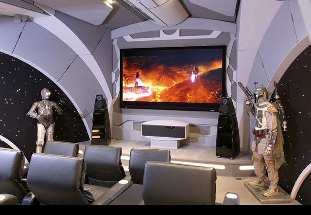 Домашний кинозал почитателя Звездных войн