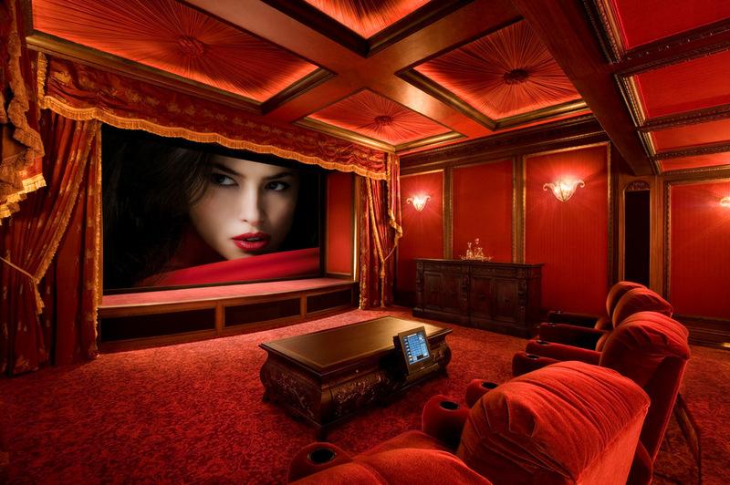 Гламурный домашний кинотеатр