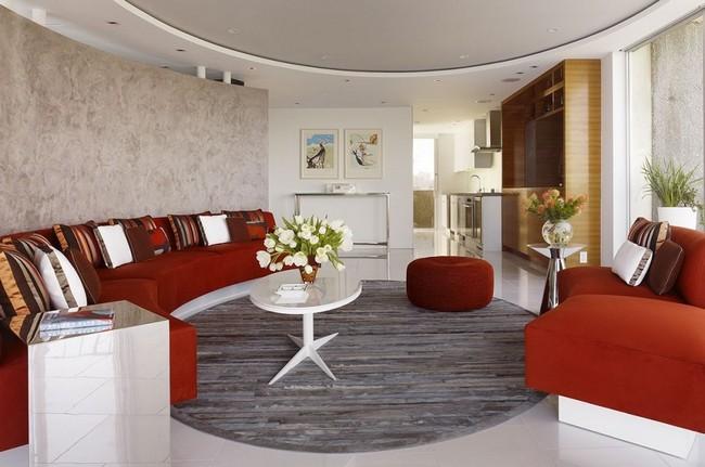 Интерьер трехкомнатной квартиры Fontana Apartment