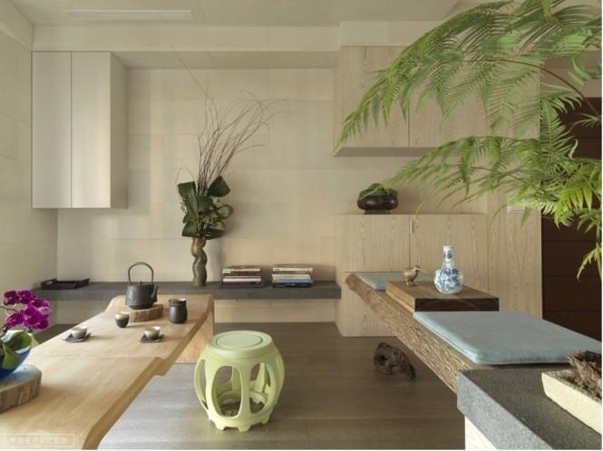 Интерьер в восточном стиле от Ву Ченгксиана