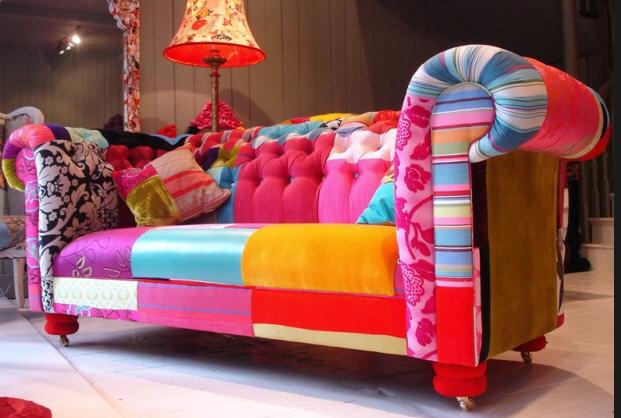 Мебель пэчворк