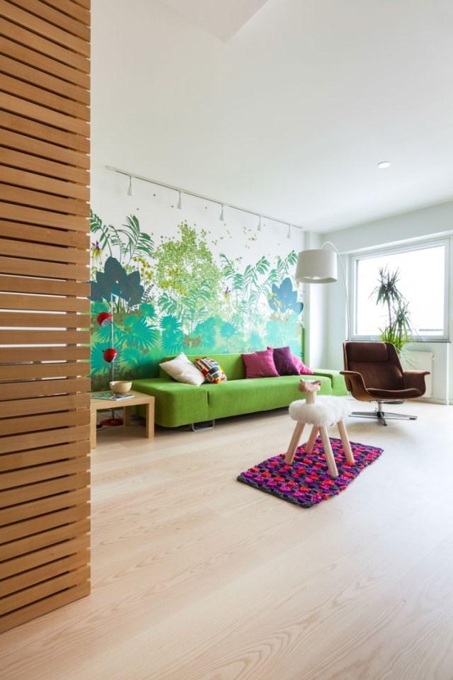 Перепланировка квартиры - гостиная комната