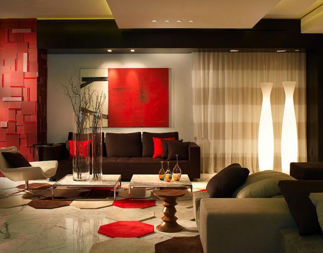 выбор цвета для гостиной