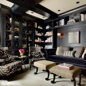 Дизайн проект гостиной – фото 679