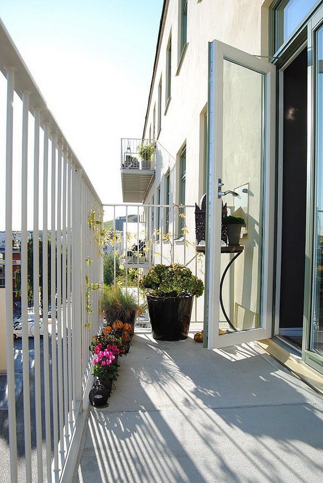 интерьер балкона