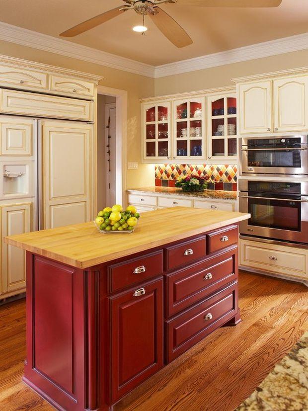 Как сочетать цвета в интерьере кухни - выберите изюминку