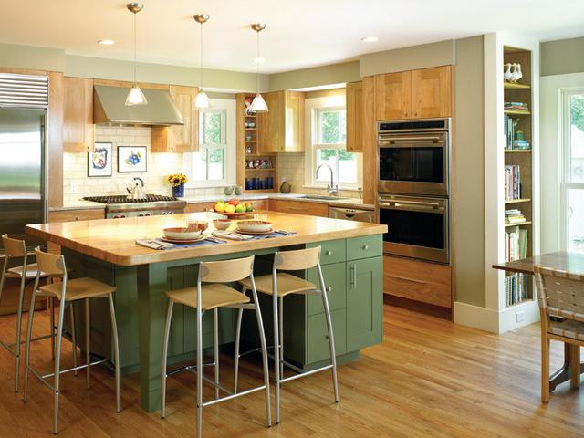 Цвет в интерьере кухни - влияние цвета стен