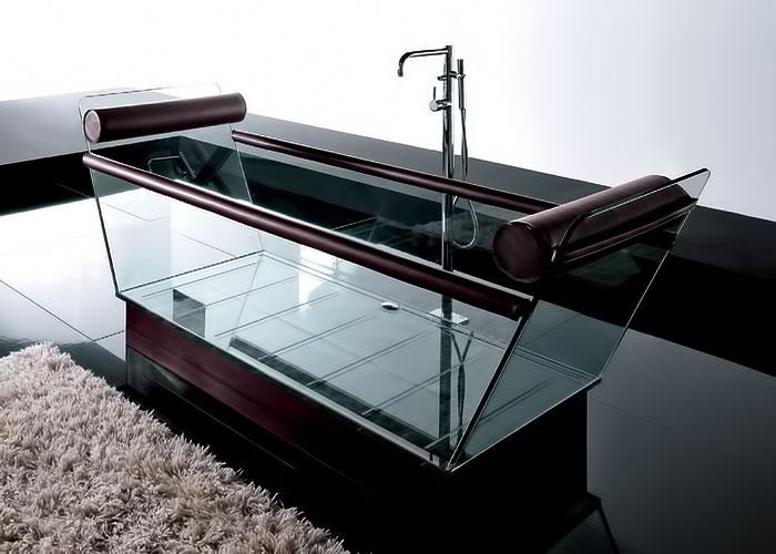 Стеклянные ванны Spa@Home