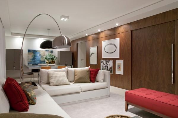 Современный интерьер - гостиная в квартире