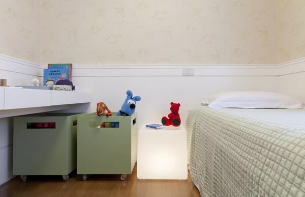 Современный интерьер - небольшая детская комната