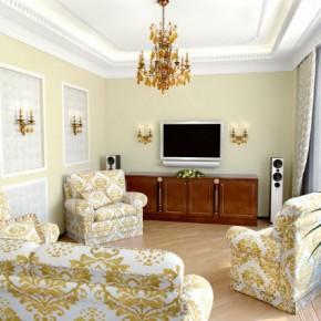 Оформление гостиной – фото 669