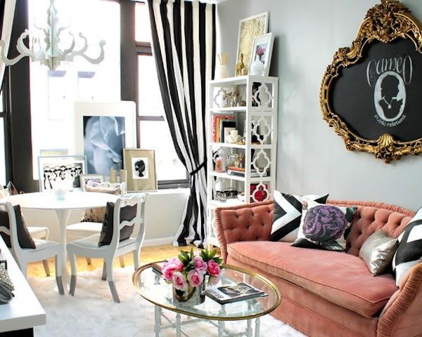 дизайн гостиной барокко