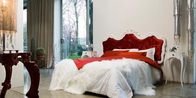 красивая спальня барокко