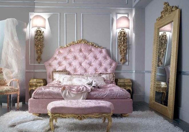 Элементы интерьера в стиле барокко - декор