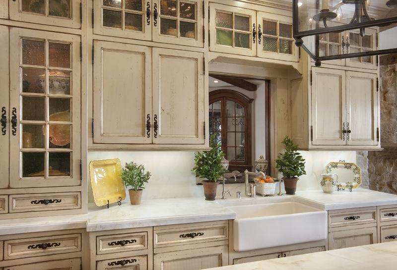 винтажные кухонные двери