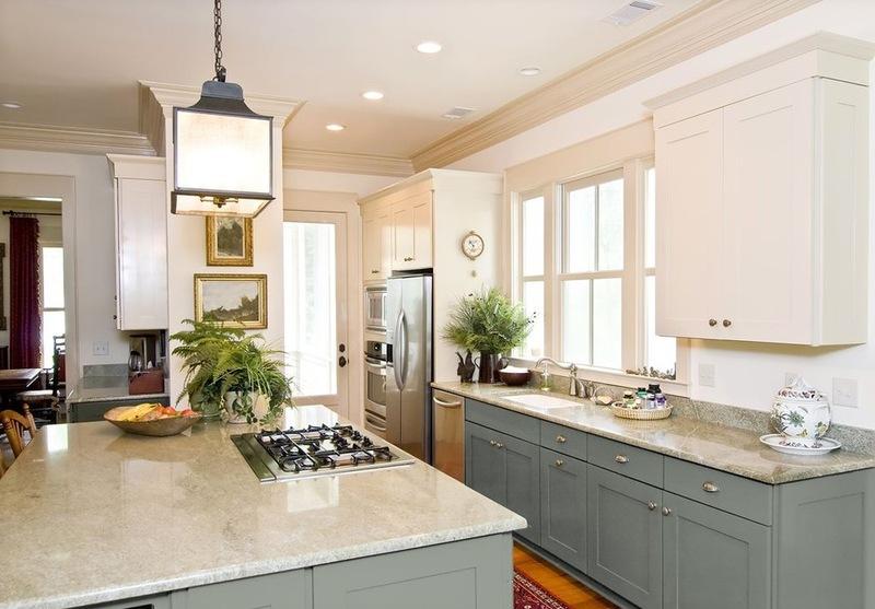 Переходной стиль в интерьере кухонь