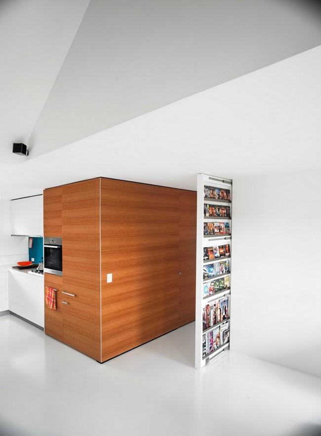 яркий дизайн квартиры