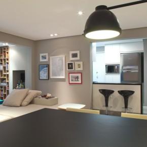 Дизайн проект гостиной – фото 445
