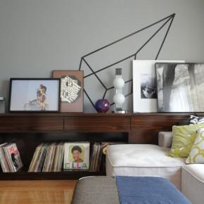 Дизайн гостиной – фото 451