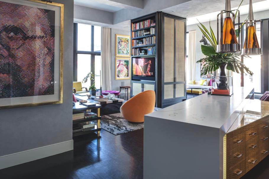 Дизайнерская квартира от Джеми Дрейка фото 6